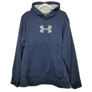 Under Armour | cold gear hoodie | blue | loose fit